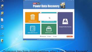How to recover data from unallocated drive?