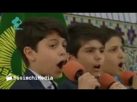 Irani student Dua in Farsi full video..Razavi