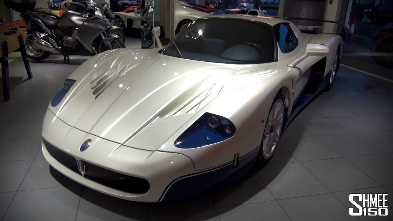 Maserati MC12 - Inside and Out, Startup