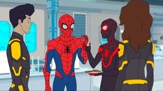 Marvel Человек паук 2017 сезон 1 серия 24 Паучий остров. Часть 5