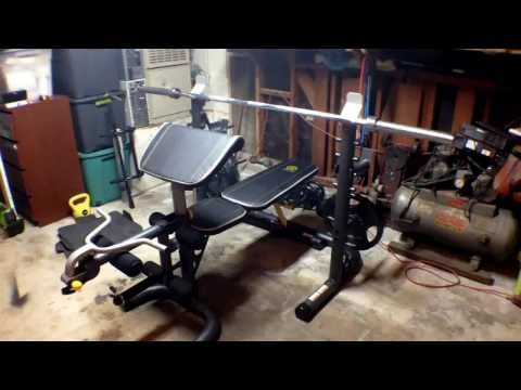 In depth look at Golds Gym XRS 20 Olympic Workout Bench and Rack