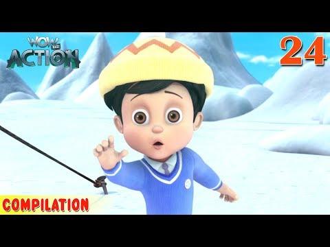 Vir : The Robot Boy | Vir Action Collection - 24 | Action series | WowKidz Action