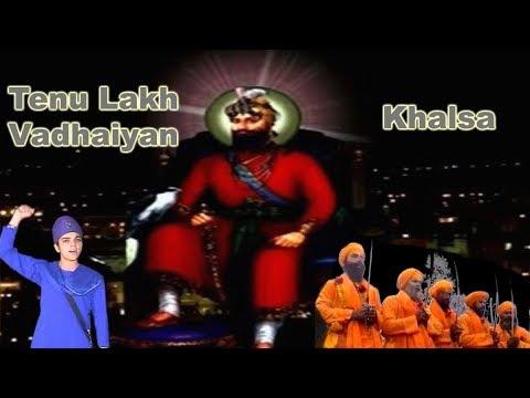 Vaisakhi Mela, Shabad,Visakhi mela dera baba nanak,Lakh Vadhaiyan Khalsa,Sikhi Nahi Mukni,