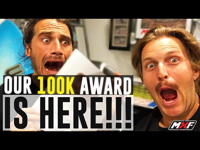 Unboxing Our 100,000 Subscribers YouTube Award!!! Plus What We've Learned in the Past Year