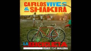 Carlos Vives & Shakira - La Bicicleta (Urban Remix) Feat. Maluma