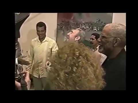 Muhammad Ali y Fidel Castro