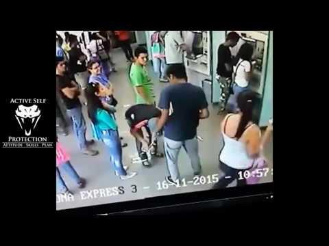 Mugger Wants Valuables, Gets Shot Instead