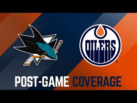 LIVE | Post-Game Coverage - Oilers vs. Sharks