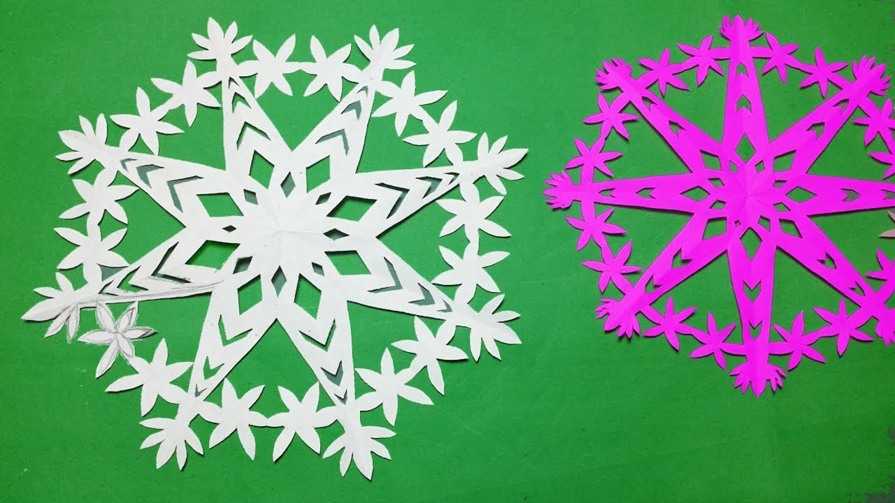 paper cutting designhow to make paper cutting snowflakes design easykirigami tutorials
