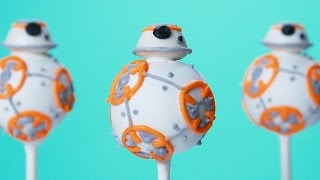 BB-8 CAKE POPS - NERDY NUMMIES - STAR WARS