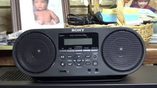 Sony BoomBox Review!