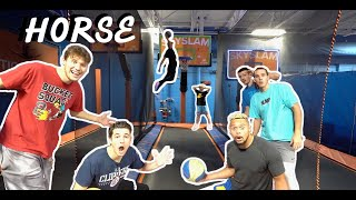 INSANE Game of Trampoline H.O.R.S.E. ft. Jesser,  Tristan Jass,  ZackTTG & More