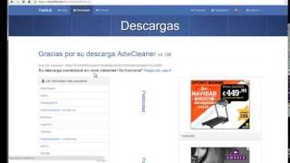 eliminar virus  vi-view de nuestra pagina de inicio