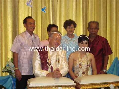 สมัครหาคู่ต่างชาติ Thaidarling.com หาแฟนฝรั่ง หาแฟนต่างชาติ งานแต่งงานคุณบีกับสามีชาวเยอรมัน