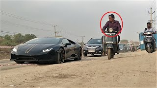 Supercars vs INDIAN Roads | Only in India | Supercars in Hyderabad!!