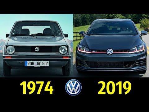 Volkswagen Golf - Эволюция (1974 - 2019) ! История Создания !