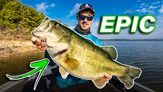 Fishing The LAND of GIANTS!! (NEW PB and 35 lb BAG of BASS)