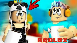 We PASSED the QUIZ MADE FOR ME 😮☕💕-Roblox Ft. Mom