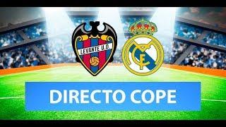 (SOLO AUDIO) Directo del Levante 1-0 Real Madrid en Tiempo de Juego COPE