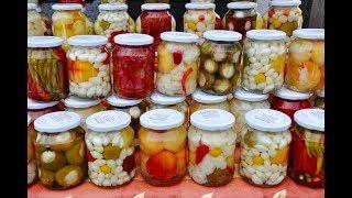 Соленья и маринады - польза или вред? Варенья, капуста, салаты, кабачки на зиму и лето