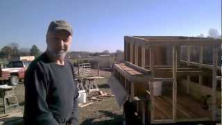 Building A Mobile Laying Hen House