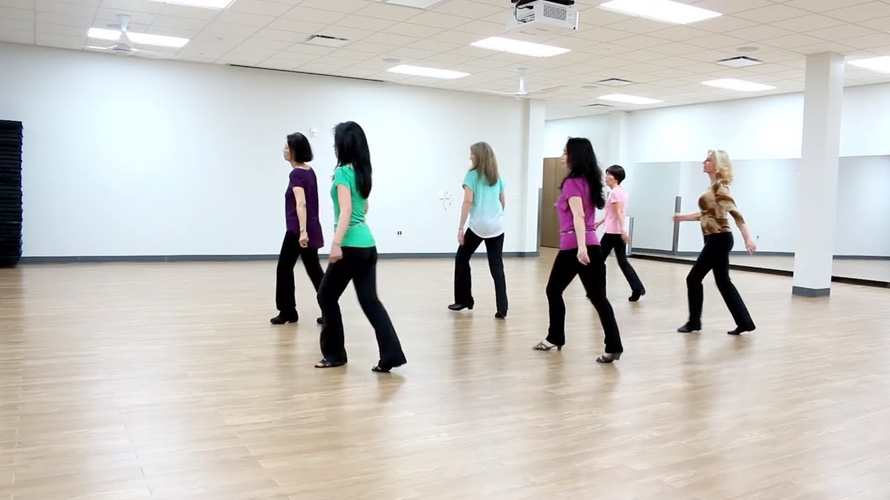 Can't Control Your Feet - Line Dance (Dance & Teach in English & 中文) - YouTube