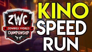 ZOMBIES WORLD CHAMPIONSHIP RUNS || Kino Speed Run ROUND 100 || #ZWC2