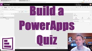 Build a PowerApps Quiz plus intro to controls