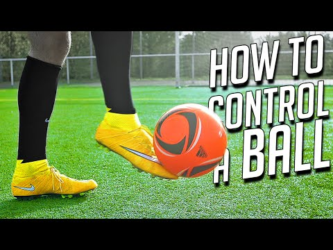 How to Control the Ball After a PassCross  Football Tutorial by freekickerz