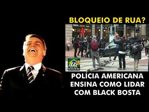 Polícia americana ensina como lidar com Black Blocks!