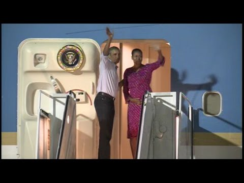 First Family departs from Joint Base Pearl Harbor-Hickam, completing another Hawaii vacation