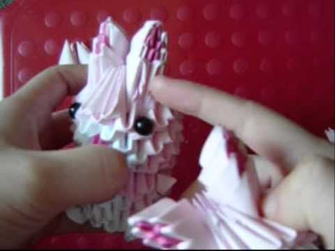 Rabbit / Conejo De Origami 3D TUTORIAL! - YouTube | 360x480