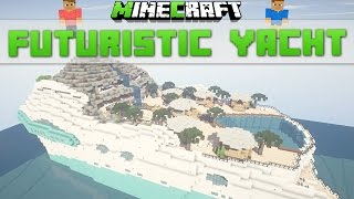 Minecraft Timelapse - Futuristic Yacht [Download]