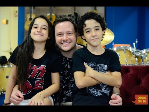 Programa Papo de Fã com Enzo e Duda Rabelo na íntegra entrevista completa