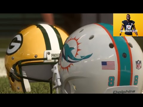 Madden 19 Online Gameplay (Miami Dolphins Vs Green Bay Packers)