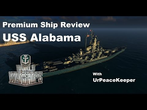 Premium Ship Review - USS Alabama In World Of Warships