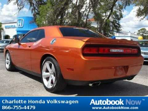 2011 dodge challenger srt8 in port charlotte fl for sale youtube. Black Bedroom Furniture Sets. Home Design Ideas