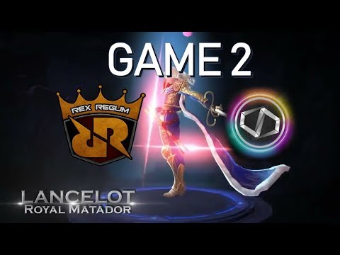 RRQ vs DD PRO G - PHEW VS LEMON - MSC 2018 - MOBILE LEGENDS - PHILIPPINES VS INDONESIA
