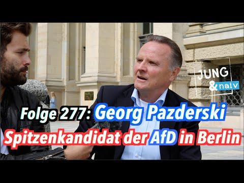 Georg Pazderski, Spitzenkandidat der AfD zur Wahl in Berlin - Jung & Naiv: Folge 277