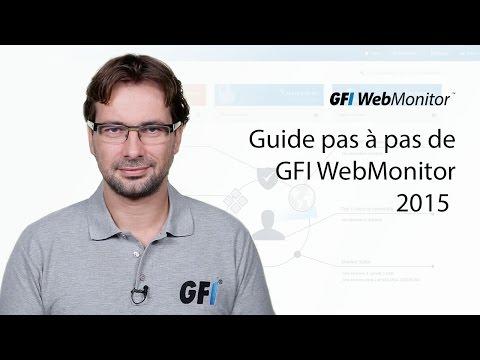 Guide pas à pas de GFI WebMonitor 2015