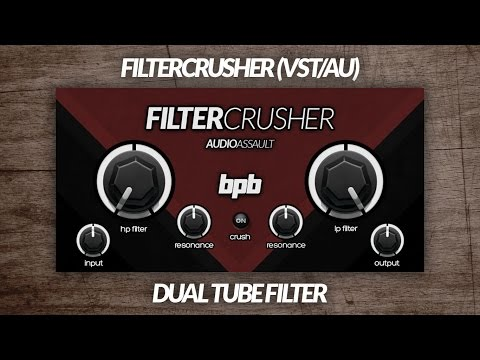 FilterCrusher (VST/AU) DEMO