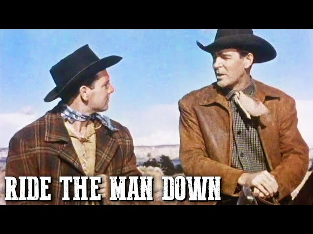 Ride the Man Down | JOSEPH KANE | Wild West | Cowboy Movie | Old Western | English