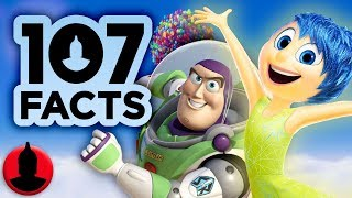 107 Facts About PIXAR!! - Disney Pixar Facts! (107 Facts S8 E1) | Channel Frederator