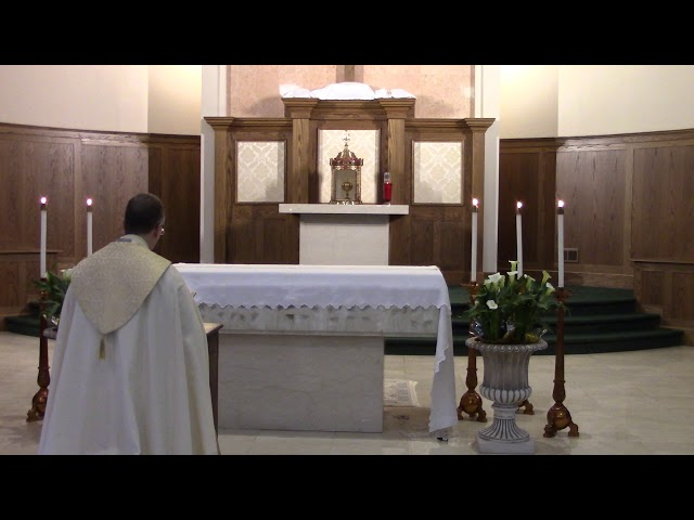 Night Prayer on Holy Thursday