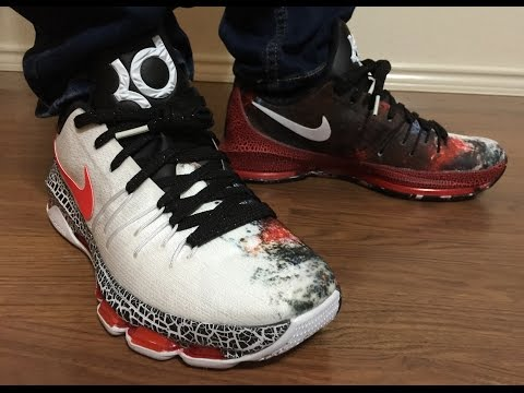 KD8 Christmas on feet review