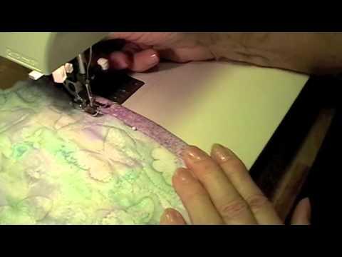 come realizzare un patchwork di trapunta con cadute di tessuto. Coperta Patchwork Passo Passo Fine Youtube
