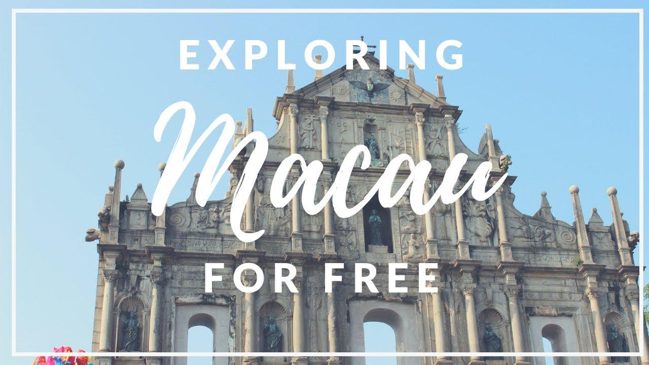 WE TOURED MACAU FOR FREE! (2018) GRAND LISBOA SENADO SQUARE ST. PAUL RUINS THE VENETIAN THE PARISIAN