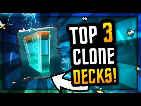 Top 3 Clone Decks Used By Pros in Clash Royale :: DEADLY RESULTS!