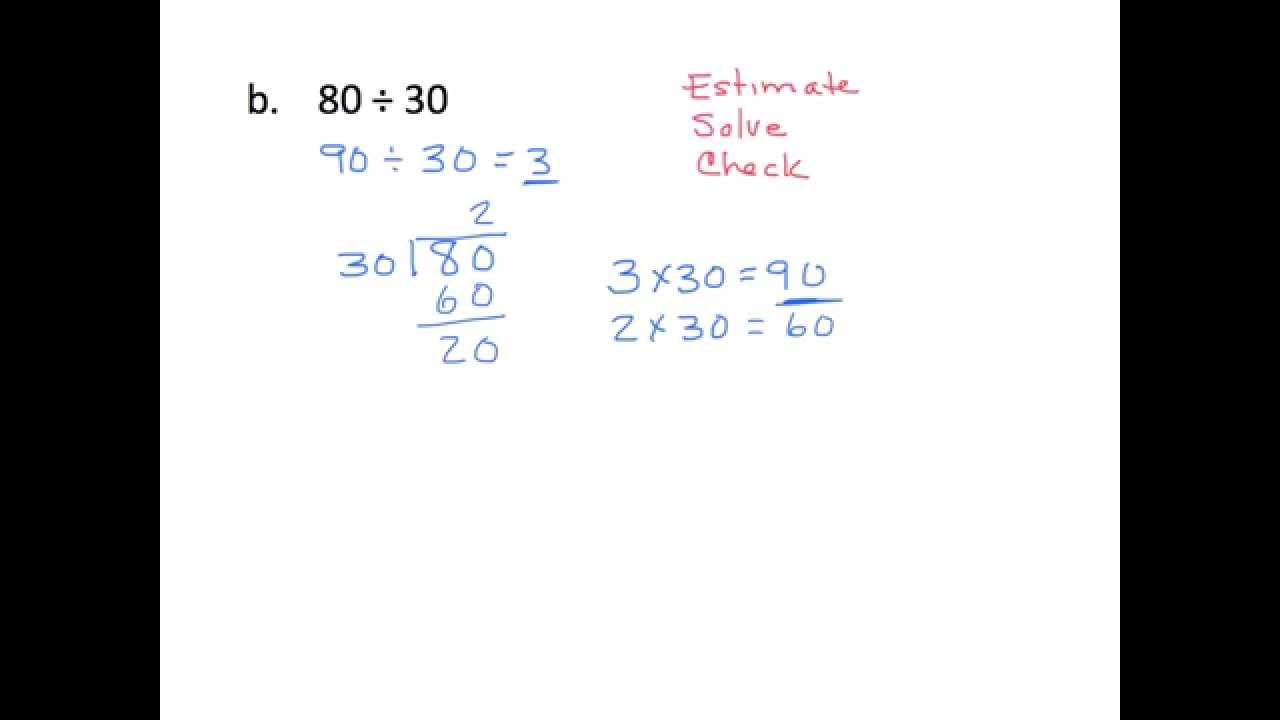 hight resolution of Divide by Multiples of 10 Patterns (solutions