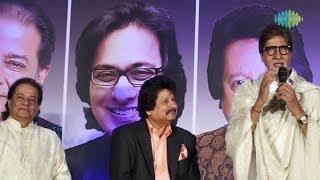 Download Amitabh Bachchan talks about Pankaj Udhas | Zindagi Ka Yahi Fasana Hai | DESTINY MP3 song and Music Video